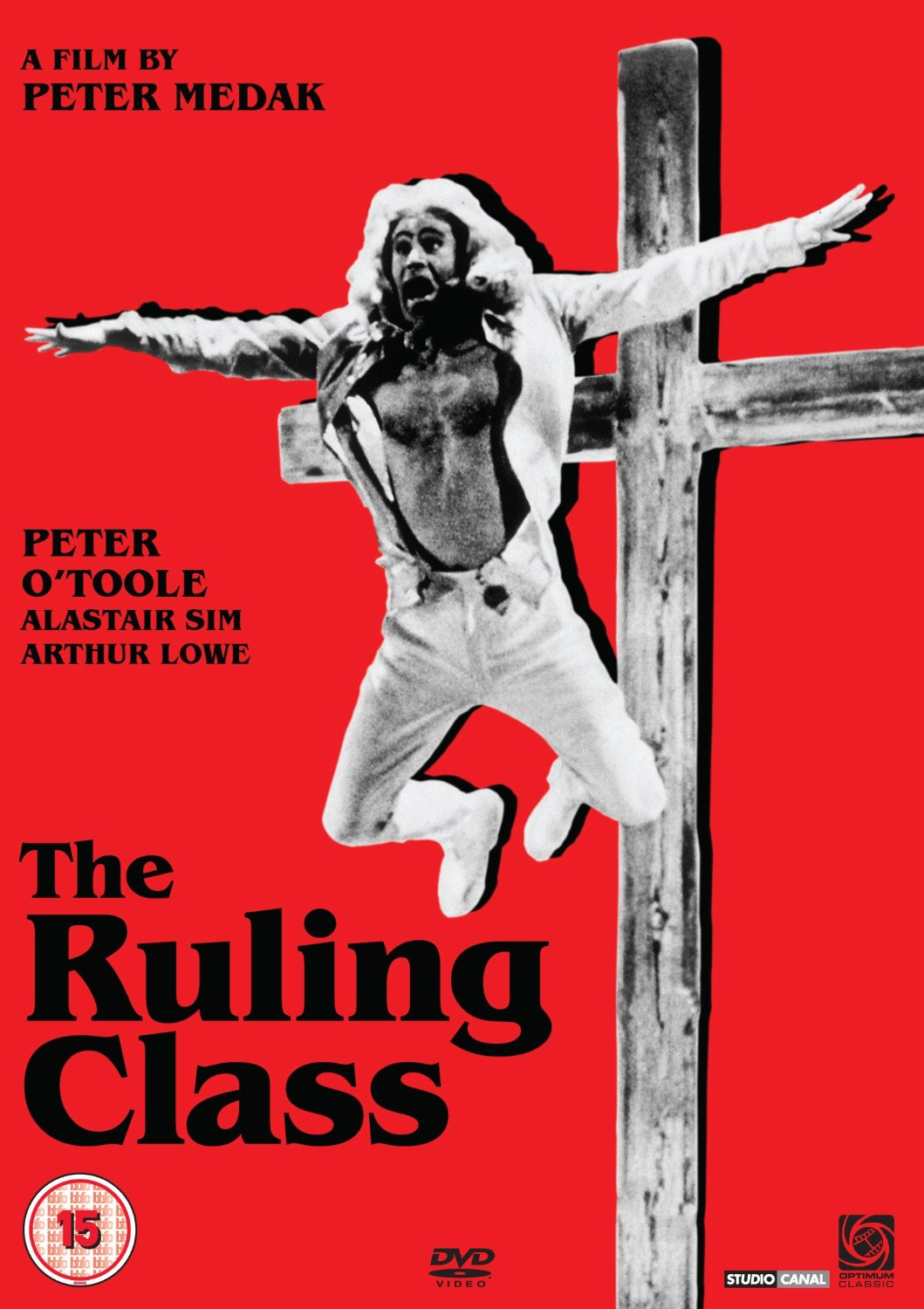 Peter O' Toole The Ruling Class poster
