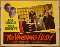 The Black Cat (1934 Edgar G. Ulmer) lobby card aka %22The Vanishing Body%22