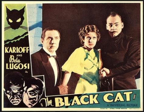 The Black Cat (1934 Edgar G. Ulmer) lobby card.