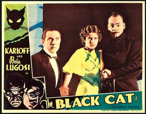 The Black Cat (1934 Edgar G. Ulmer) lobby card.
