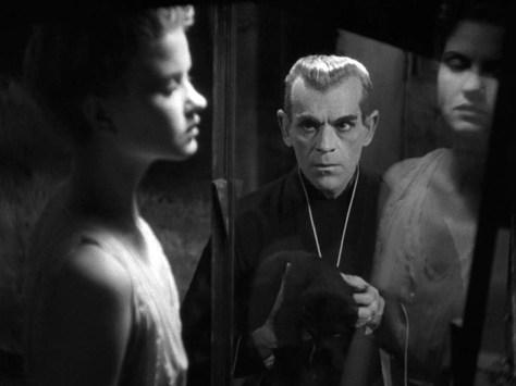 THE BLACK CAT (1934) KARLOFF THE UNCANNY