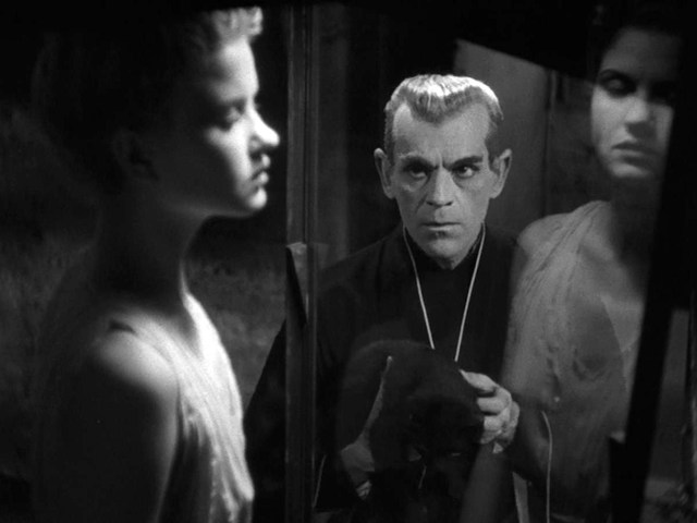 THE BLACK CAT (1934) KARLOFF THE UNCANNY