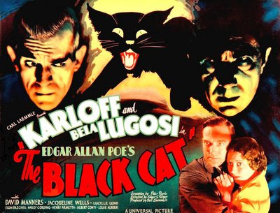 THE BLACK CAT (1934) POSTER