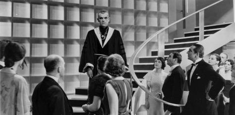 THE BLACK CAT (1934) THE BLACK PRIEST