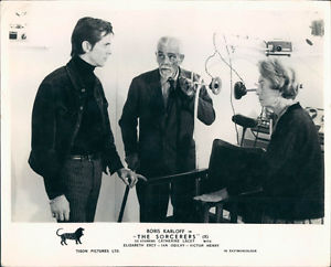 The Sorcerers (1967 dir. Michael Reeves) Boris Karloff lobby card