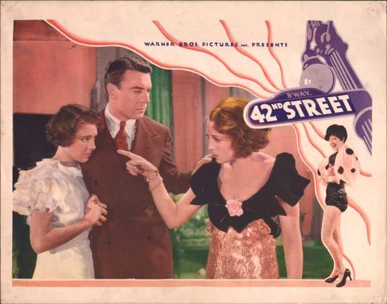 42nd street 1933 lobby card