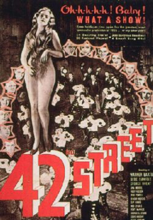 42nd street 1933 poster