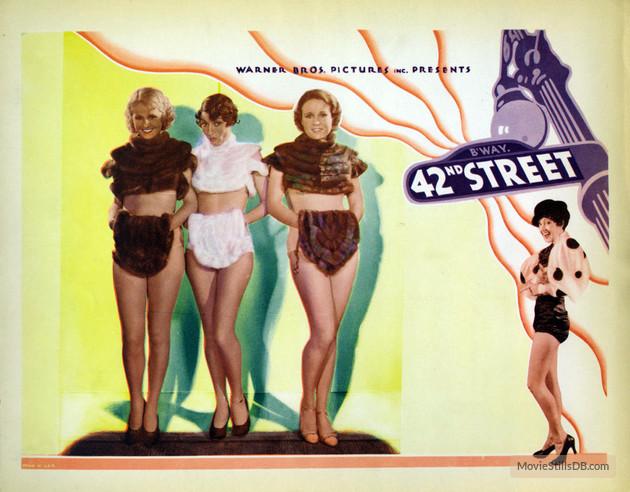 42nd street Lobby Card (1933)