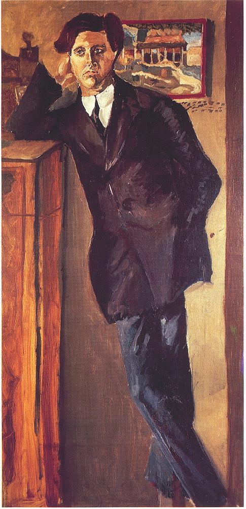 Alban Berg by Schoenberg