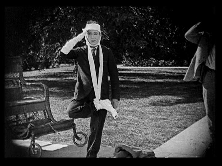 ALL NIGHT LONG 1924 HARRY LANGDON