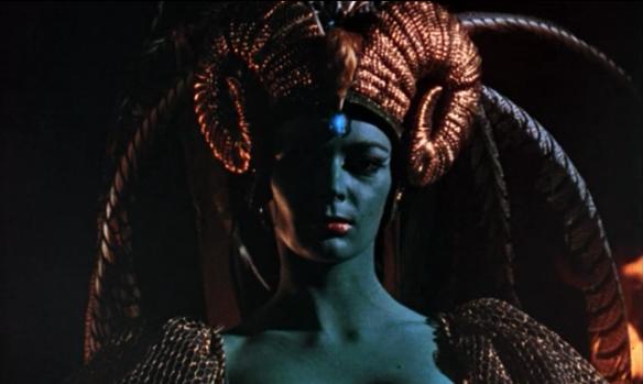 Barbara Steele Curse Of The Crimson Altar