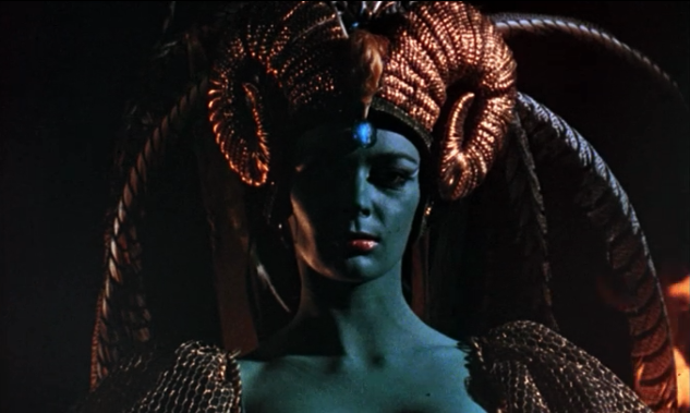 Barbara Steele Curse Of The Crimson Altar