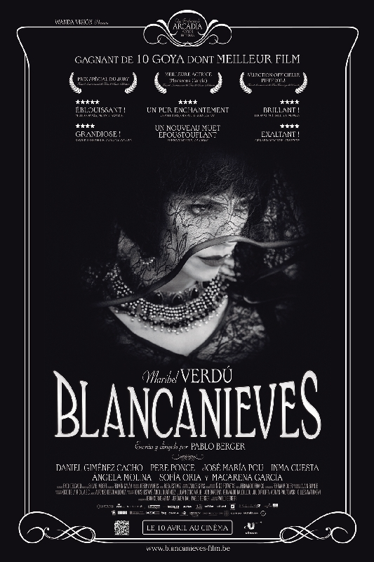 BLANCANIEVES (2012) poster