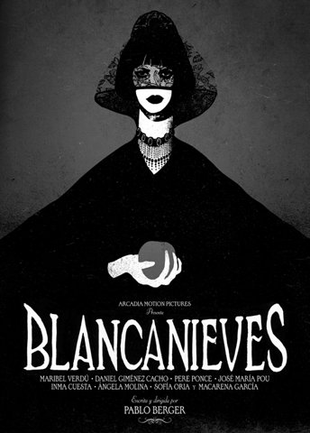 BLANCANIEVES 2012 poster