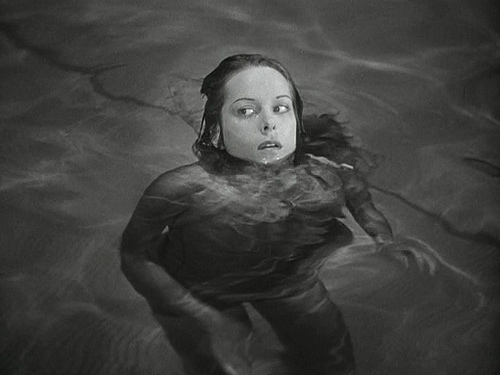 CAT PEOPLE (1942) POOL SCENE