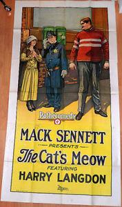 CAT'S MEOW HARRY LANGDON