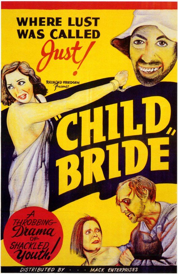 CHILD BRIDE 1938 POSTER