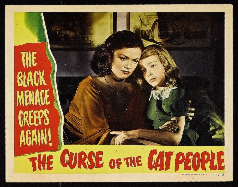 Curse Of The Cat People 1944 lobby card