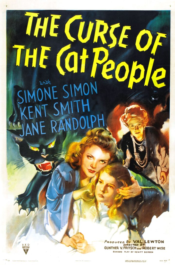 CURSE OF THE CAT PEOPLE (1944) POSTER