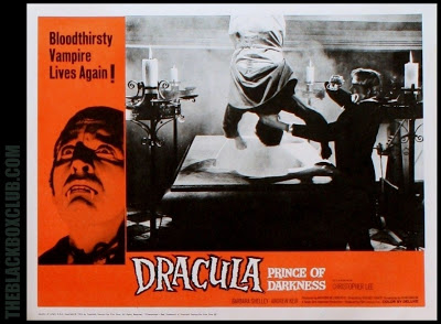 Dracula Prince Of Darkness 1965 lobby ard