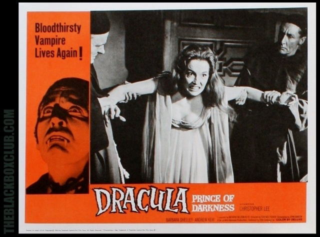 Dracula, Prince Of Darkness lobby card