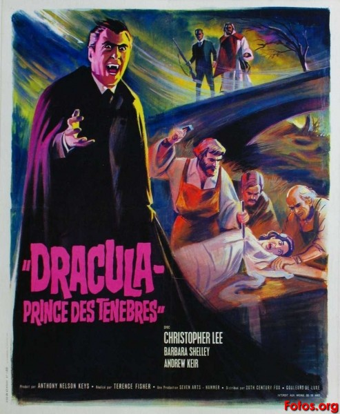 Dracula, Prince of Darkness poster