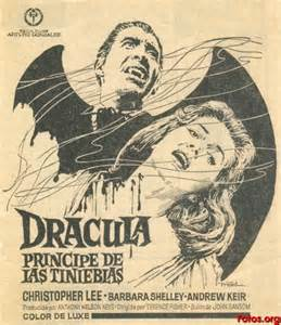 DRACULA,PRINCE OF DARKNESS (1965) AD