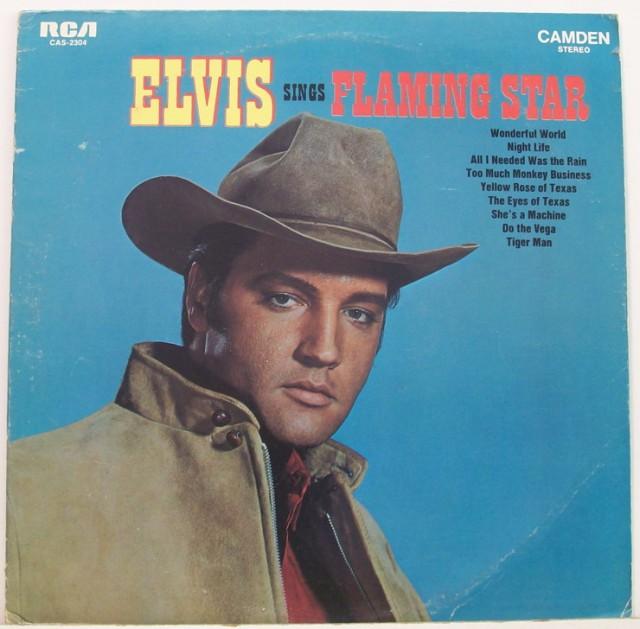 ELVIS SINGS FLAMING STAR