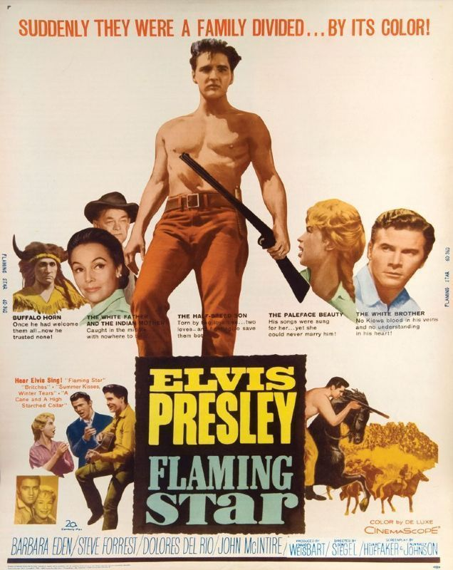 FLAMING STAR MOVIE POSTER