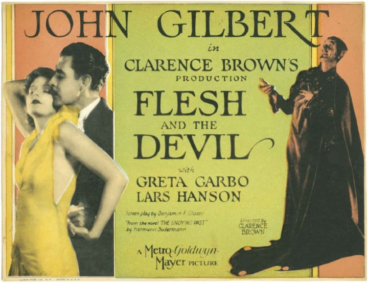 GARBO FLESH AND THE DEVIL LOBBY