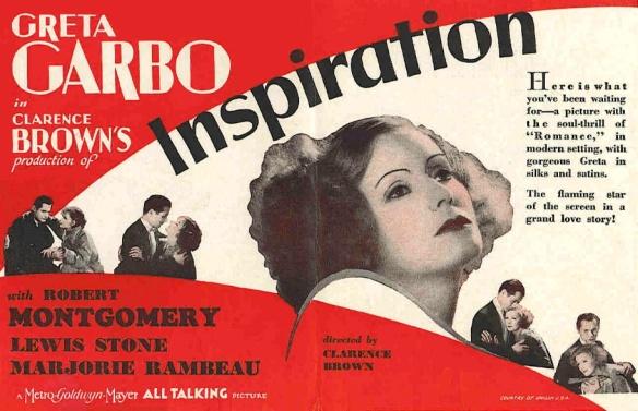 GARBO INSPIRATION (AD)