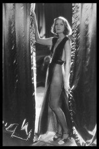 Swedish actress Greta Garbo