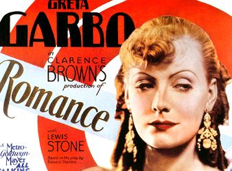 GARBO ROMANCE 1930 POSTER