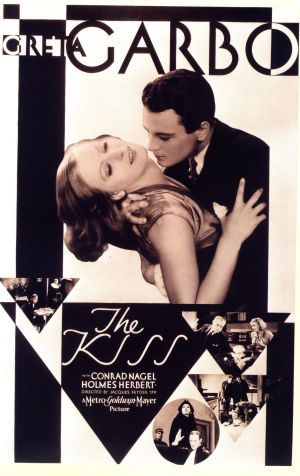GARBO THE KISS 1929 POSTER