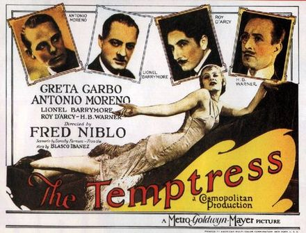 GARBO THE TEMPTRESS 1926