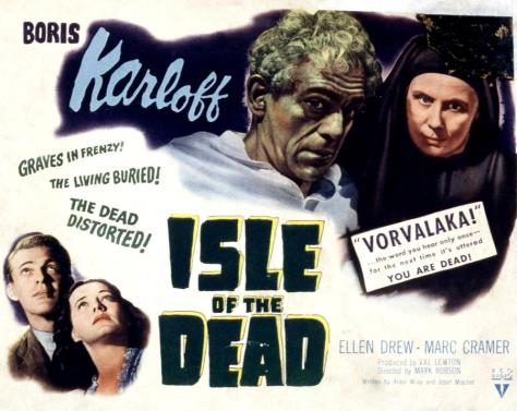 ISLE OF THE DEAD MOVIE POSTER