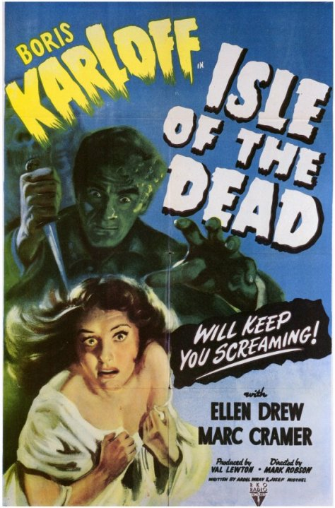 ISLE OF THE DEAD POSTER