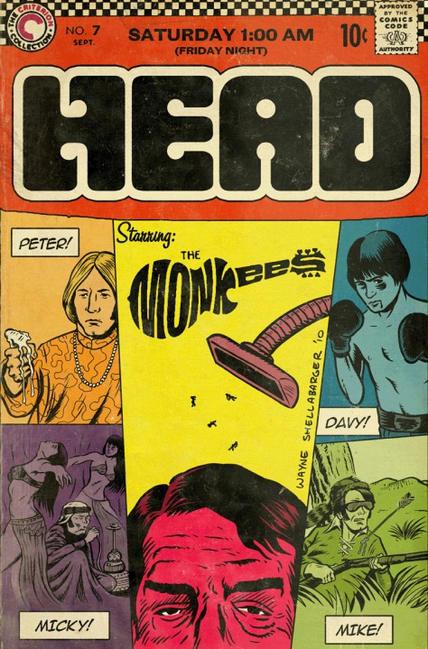 MONKEES HEAD COMIC