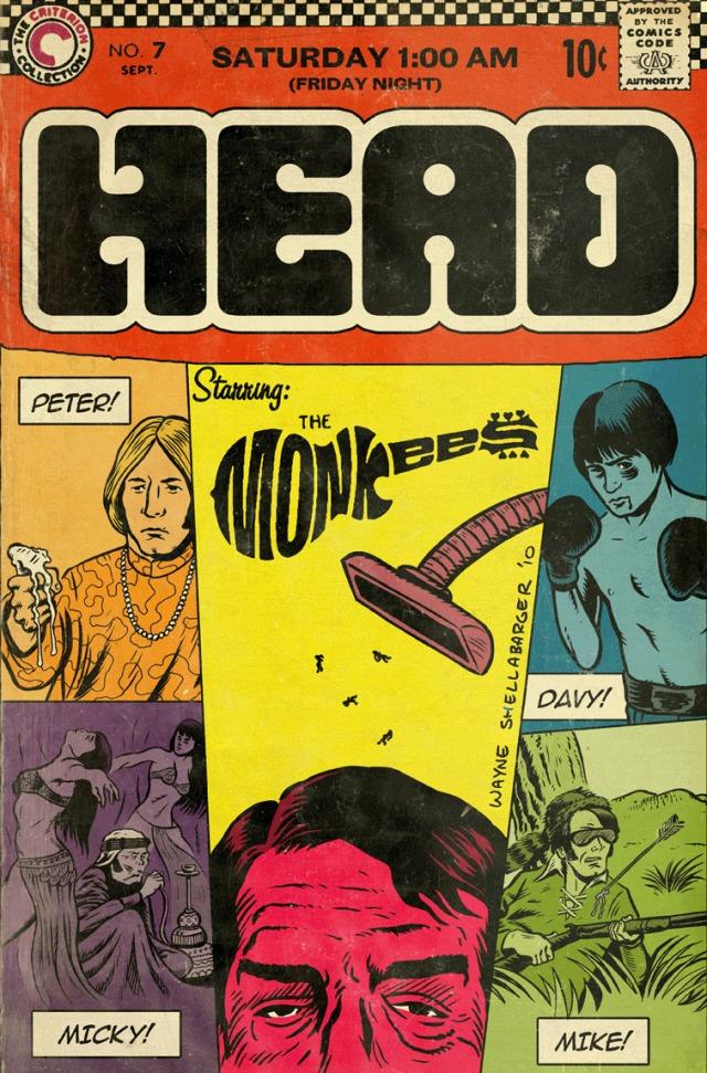 MONKEES HEAD COMIC