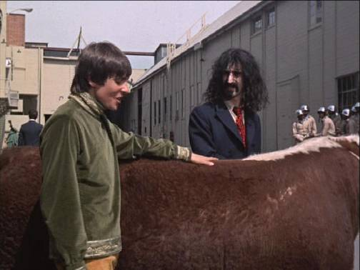MONKEES HEAD -FRANK ZAPPA
