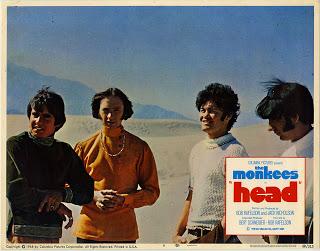 MONKEES HEAD LOBBY CARD
