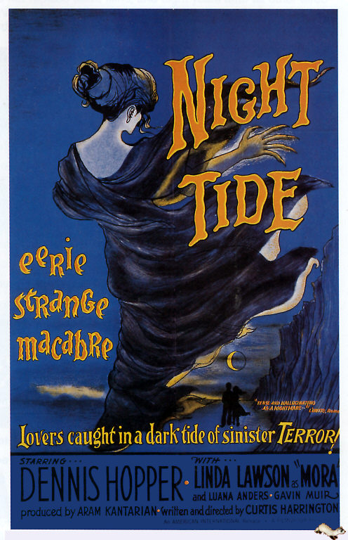 NIGHT TIDE 1963 POSTER