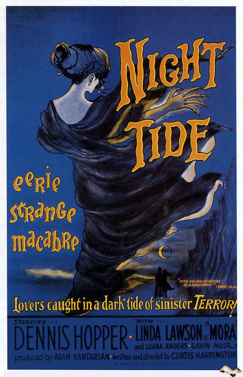 NIGHT TIDE 1963 POSTER