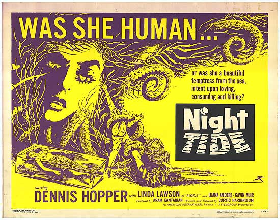 NIGHT TIDE POSTER