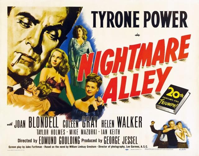 NIGHTMARE ALLEY MOVIE POSTER