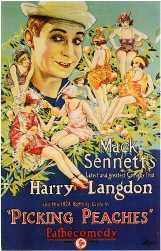 PICKING PEACHES POSTER HARRY LANGDON