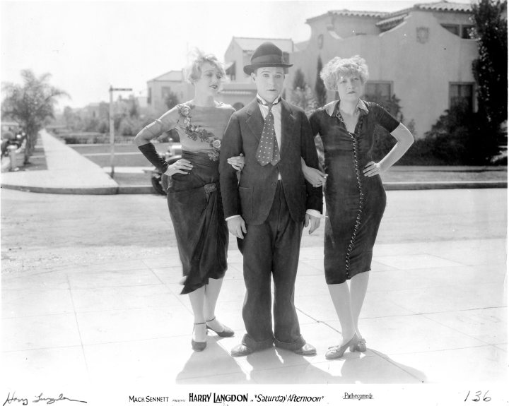 SATURDAY AFTERNOON 1926 HARRY LANGDON