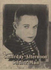 SATURDAY AFTERNOON AD HARRY LANGDON