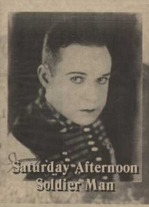 SATURDAY AFTERNOON AD HARRY LANGDON
