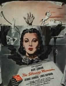 STRANGE WOMAN ad